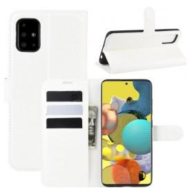 Samsung Galaxy A51 5G valkoinen suojakotelo