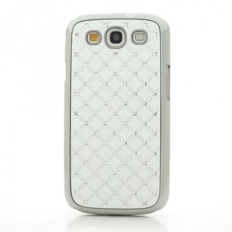 Galaxy S3 valkoiset luksus kuoret