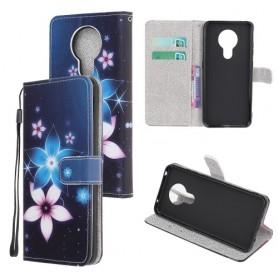 Nokia 5.3 kukat suojakotelo