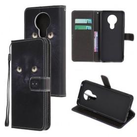 Nokia 5.3 kissa suojakotelo
