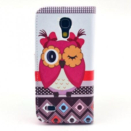 Galaxy S4 Mini pöllö puhelinlompakko