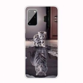 Samsung Galaxy A41 kissa suojakuori