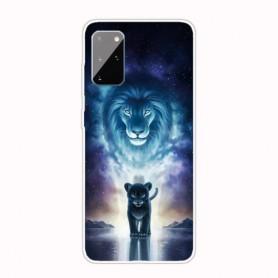 Samsung Galaxy A41 leijona suojakuori