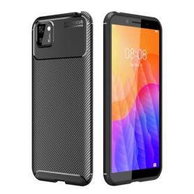 Huawei Y5P musta suojakuori