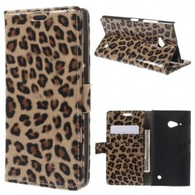 Lumia 735 leopardi puhelinlompakko