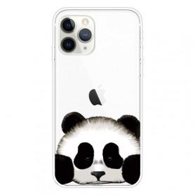 iPhone 11 Pro läpinäkyvä panda suojakuori