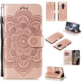 Nokia 5.3 ruusukulta mandala suojakotelo
