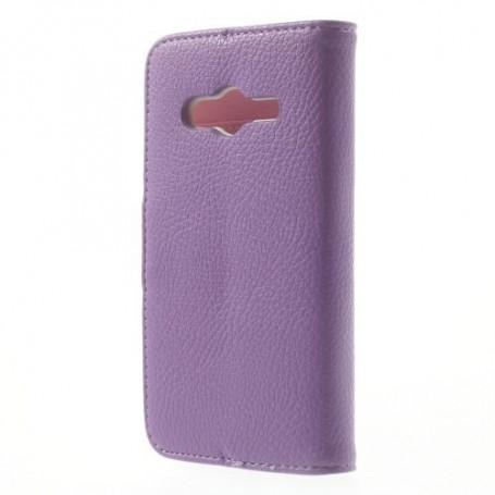 Galaxy Trend 2 violetti lompakkokotelo