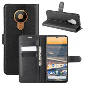 Nokia 5.3 musta suojakotelo