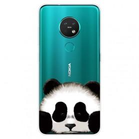 Nokia 6.2 / 7.2 läpinäkyvä panda suojakuori