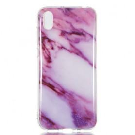 Huawei Y5 2019 / Honor 8S pinkki marmori suojakuori