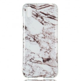 Huawei Y5 2019 / Honor 8S valkoinen marmori suojakuori