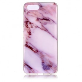 Huawei Y5 2018 pinkki marmori suojakuori