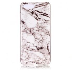 Huawei Y5 2018 valkoinen marmori suojakuori