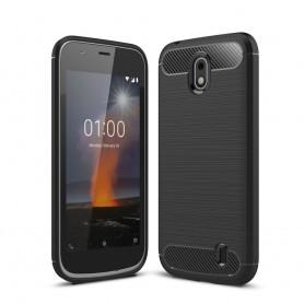 Nokia 1 musta suojakuori