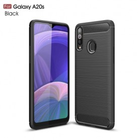 Samsung Galaxy A20s musta suojakuori