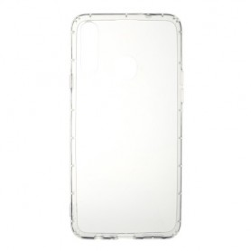Samsung Galaxy A20s läpinäkyvä suojakuori.