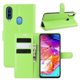 Samsung Galaxy A20s vihreä suojakotelo