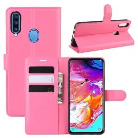 Samsung Galaxy A20s pinkki suojakotelo