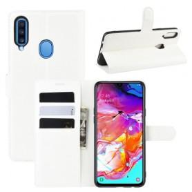 Samsung Galaxy A20s valkoinen suojakotelo