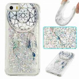 iPhone  5/5S/SE glitter hile unisieppari suojakuori