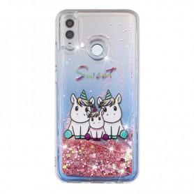Huawei Honor 10 Lite glitter hile yksisarviset suojakuori