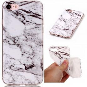 iPhone 7/8/SE 2020 valkoinen marmori suojakuori
