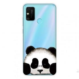 Huawei Honor 9A läpinäkyvä panda suojakuori