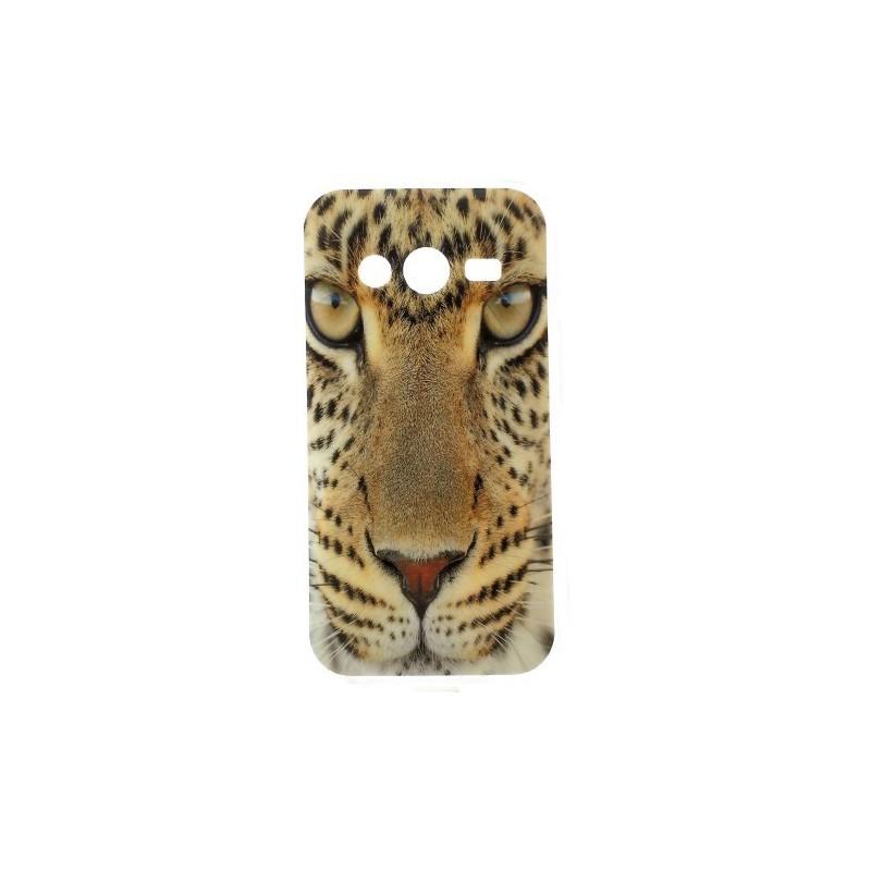 Galaxy Trend 2 leopardi silikonisuojus.