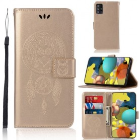 Samsung Galaxy A51 5G kullanvärinen unisieppari suojakotelo