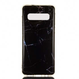 Samsung Galaxy S10 musta marmori suojakuori
