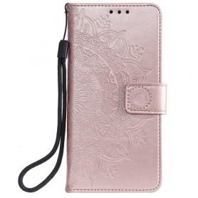 Xiaomi Mi 10 Lite 5G ruusukulta mandala suojakotelo
