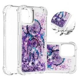 iPhone 12 mini glitter hile unisieppari suojakuori