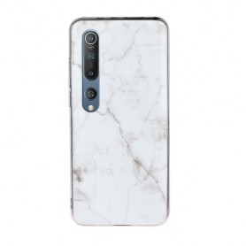 Xiaomi Mi 10 / Mi 10 Pro valkoinen marmori suojakuori