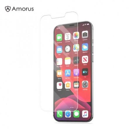 iPhone 12 / 12 Pro kirkas panssarilasi Amorus