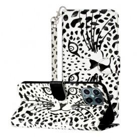 iPhone 12 / 12 pro leopardin kasvot suojakotelo