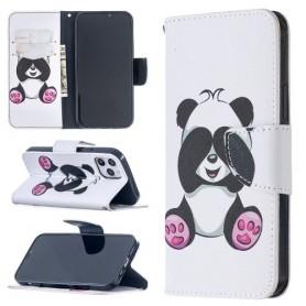 iPhone 12 / 12 pro valkoinen panda suojakotelo