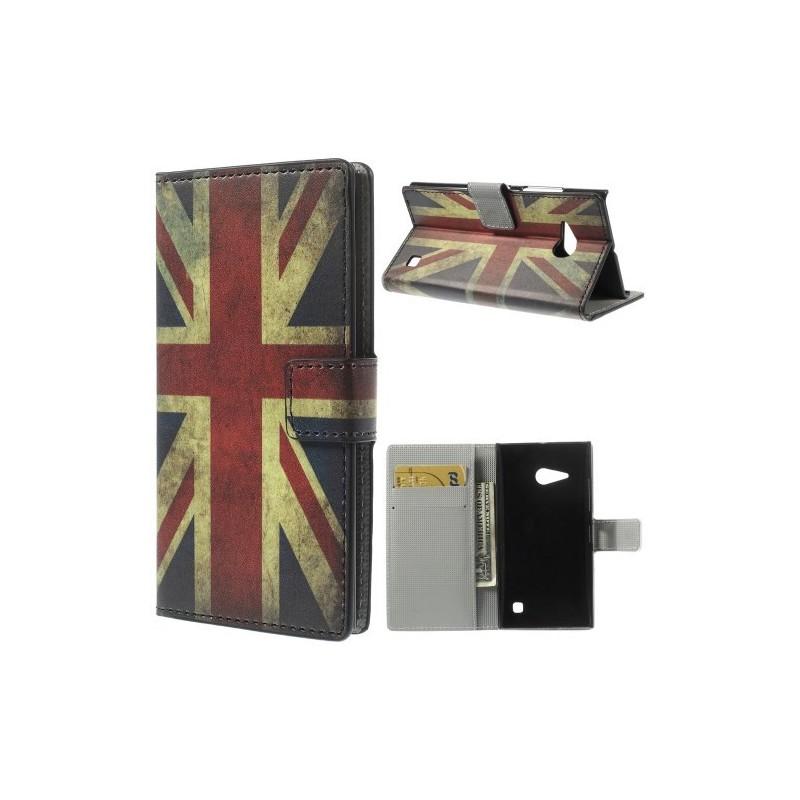 Lumia 735 Iso-Britannian lippu puhelinlompakko