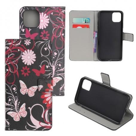 iPhone 12 / 12 pro kukkia ja perhosia suojakotelo