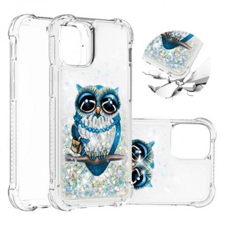 iPhone 12 / 12 Pro glitter hile pöllö suojakuori