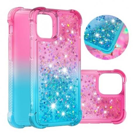 iPhone 12 / 12 Pro liukuväri glitter hile suojakuori