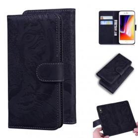 iPhone 7/8/SE 2020 musta tiikeri suojakotelo