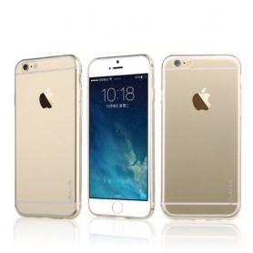 iPhone 6 plus ultra ohuet läpinäkyvät silikonikuoret.