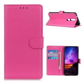 Nokia 2.4 pinkki suojakotelo