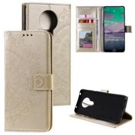 Nokia 3.4 kullanvärinen mandala suojakotelo