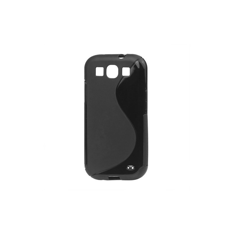 Galaxy S3 musta silikoni suojakuori.