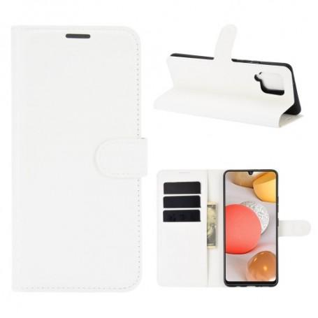 Samsung Galaxy A42 5G valkoinen suojakotelo