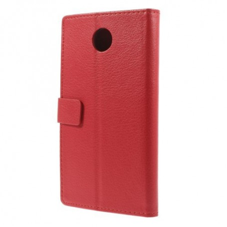 Motorola Google Nexus 6 punainen puhelinlompakko