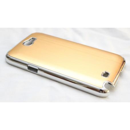 Galaxy Note 2 kullan värinen alumiini takakansi.