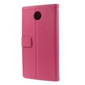 Motorola Google Nexus 6 hot pink puhelinlompakko